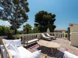 Villa centre ville proche plage, luxury hotel in Nice
