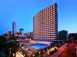 Hotel Don Pancho - Adults Only, hotel con piscina en Benidorm