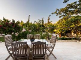 ☀️JACUZZI Villa, 5min to Kallithea Thermal Springs