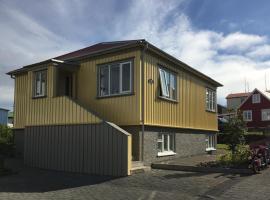 Garður restored house