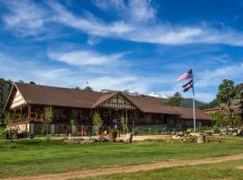 YMCA of the Rockies, accessible hotel in Estes Park