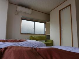 Izu 4 sea ocean reinforced con Double bed with sea view unit bath (Room