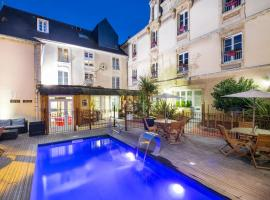 Hotel Du Luxembourg Et Restaurant Les 4 Saisons