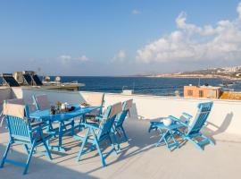 Sea View Penthouse with Roof Garden, self catering accommodation in Chania Town