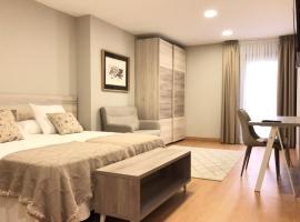 Hotel Roquiño: Caldas de Reis'te bir otel
