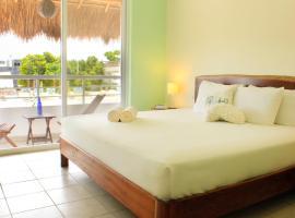 La Palmita Budget Boutique Hotel, hotel económico en Tulum