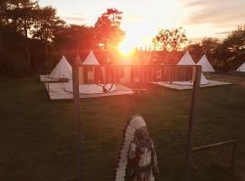 Pinewood Park - Tipis, Hot Tubs and Lodges