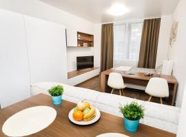 Nice apartment in apart house Radius, апартаменты/квартира в Екатеринбурге