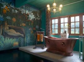 Quirky and Artistic Home with a Copper Bath and DIY Breakfast