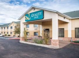 Quality Inn Colorado Springs Airport, pet-friendly hotel in Colorado Springs