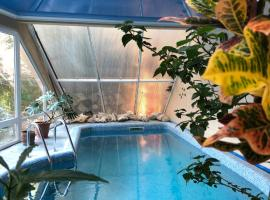 Dom v tropicheskom sadu