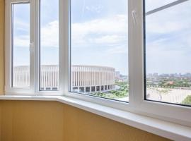Апартаменты у Парка Краснодар на Жлобы, accessible hotel in Krasnodar