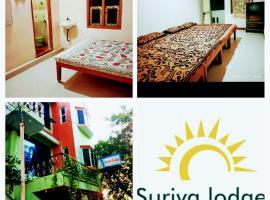 suriya lodge, beach hotel in Velānganni