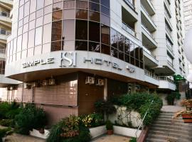SIMPLE HOTEL, hotel Szocsiban