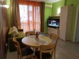 Orange Flower Apartment