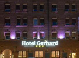 Hotel Gerhard, hotel near Meistersingerhalle Congress & Event Hall, Nürnberg
