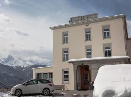Hotel-Restaurant Bellevue, Hotel in der Nähe von: Skilift Eggli, Davos Wiesen