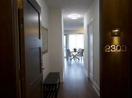 Luxury condo steps from CN Tower with underground parking ( $)