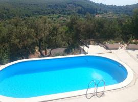 Mljet, nature eco old stone house with pool