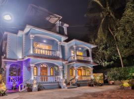 Pinnacle Blue by the beach, guest house in Calangute
