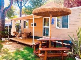 Luxury Caravan at Union Lido