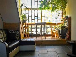 Loft mezzanine avec vue