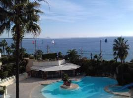 Appartement Palm d'Azur, hotel near IUT School Nice, TC Cannes department, Cannes
