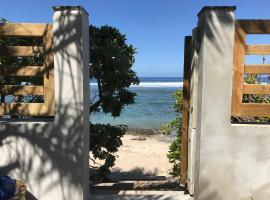 Villa 'Corail Bleu' les pieds dans l'eau