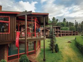 Lake House at High Peaks Resort, family hotel in Lake Placid