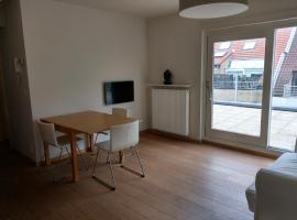 Rooftop apartment with terras - top location