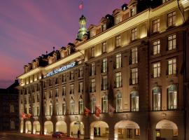 Hotel Schweizerhof Bern & THE SPA, hotel in Bern