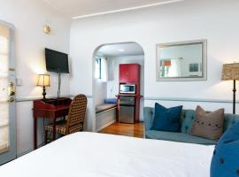 Sunny Hotel Room Corner Unit Hotel Room