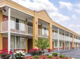 Quality Inn Fredericksburg near Historic Downtown