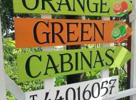 Orange Green Cabinas