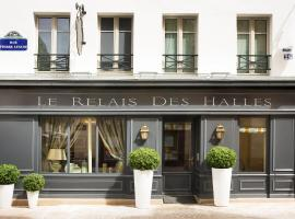 Hôtel Le Relais des Halles, hotel near Pompidou Center, Paris
