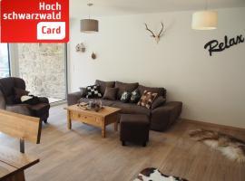 Luxus Ferienwohnung Bergblick 01 im Haus Lufeto - Todtnau, Feldberg - [#73592]