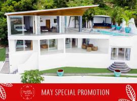 Cyan Villa, luxury seaview