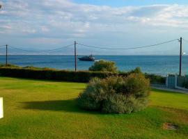 Beautiful house by the sea,Loutraki Skaloma.