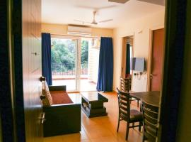Cozy Hillside Apartment Close to Anjuna