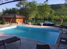 Villa on River Una