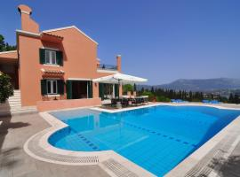 Casa T with amazing views in Corfu