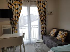 Studio-idéal familles-proche gare - NETFLIX- bio