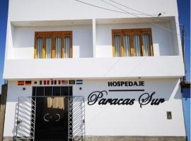 Hospedaje Paracas Sur, guest house in Paracas