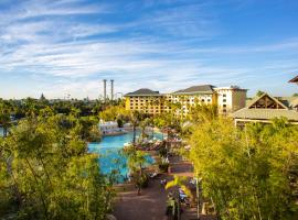 Universal's Loews Royal Pacific Resort, family hotel in Orlando