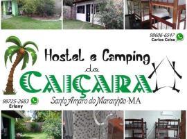 Hostel e Camping Caiçara, campingplads i Santo Amaro