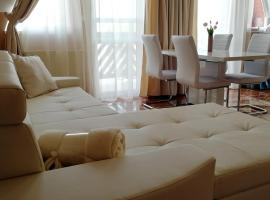 Lelle Central Grand Apartman, hotel Balatonlellén