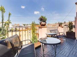 Ripetta Terrace Suites, bed & breakfast a Roma