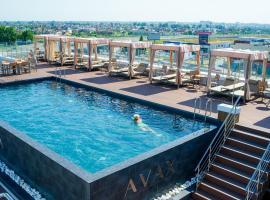 Grand Spa Hotel Avax, hotel with jacuzzis in Krasnodar