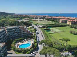 Home Away Livorno - One Bedroom Apartment with Living Room Pool View 1° Floor