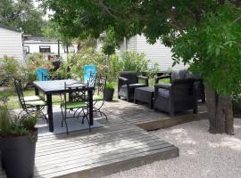 Mobil home récent clim 3ch Camping3* piscine